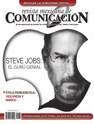 b288c9037fd Revista Mexicana de Comunicación #128 - Steve Jobs: El gurú genial ...