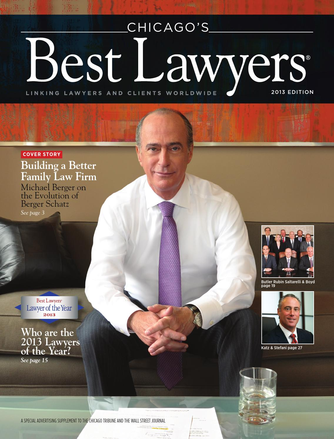 Chicago S Best Lawyers 2013 By Best Lawyers Issuu