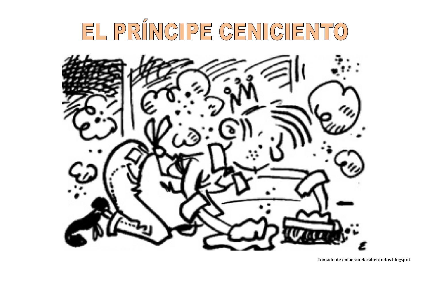 El príncipe ceniciento fichas colorear by Quinto Primaria Francisca ...