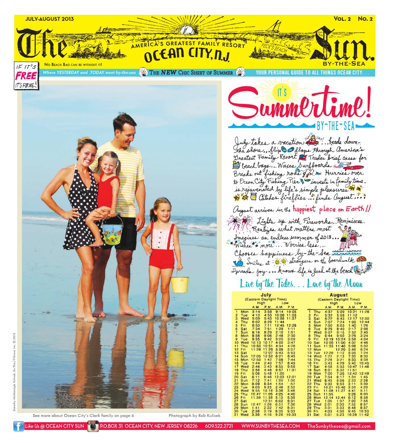 Its summertime in ocean city nj 2013 by the sun by the sea issuu nvjuhfo Image collections