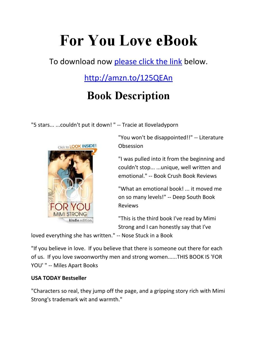 For you love ebook by foryou100 issuu fandeluxe Document