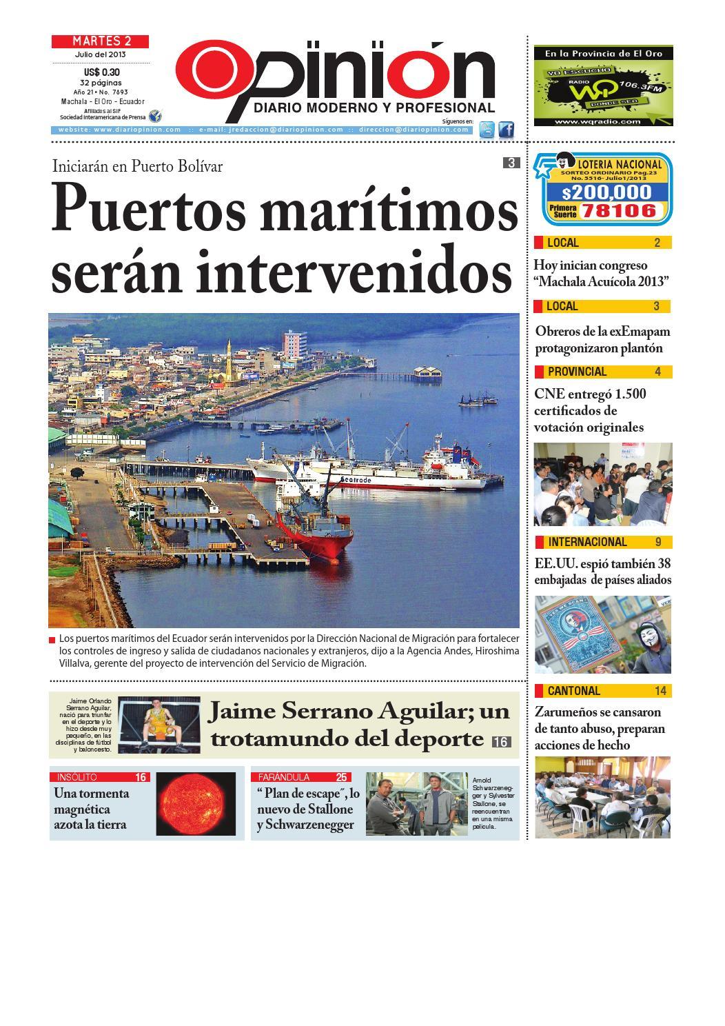 Impreso 02 07 13 by Diario Opinion - issuu