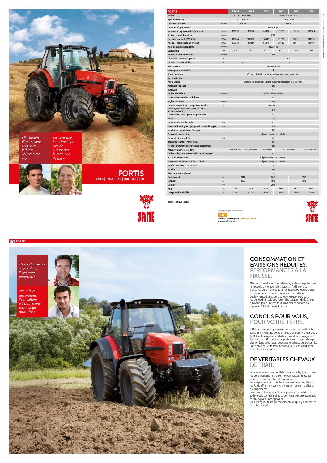 308 8538 2 1 3 fortis fr by same tractors issuu. Black Bedroom Furniture Sets. Home Design Ideas