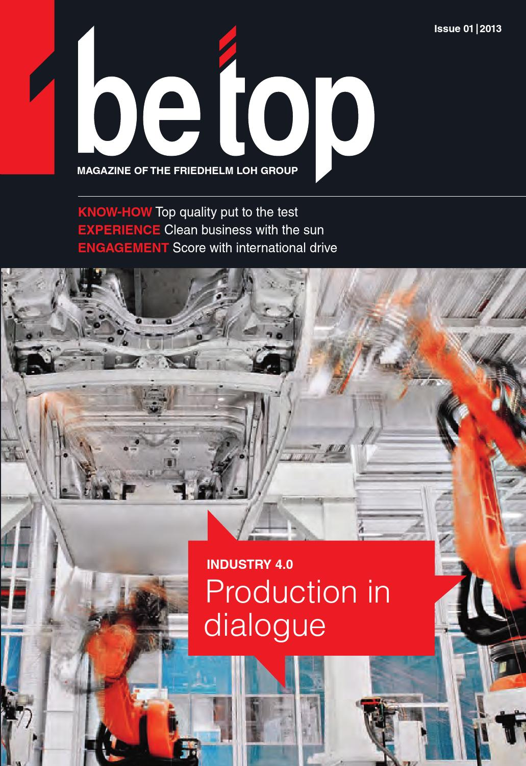 Be top 01/2013 by Rittal bv - issuu