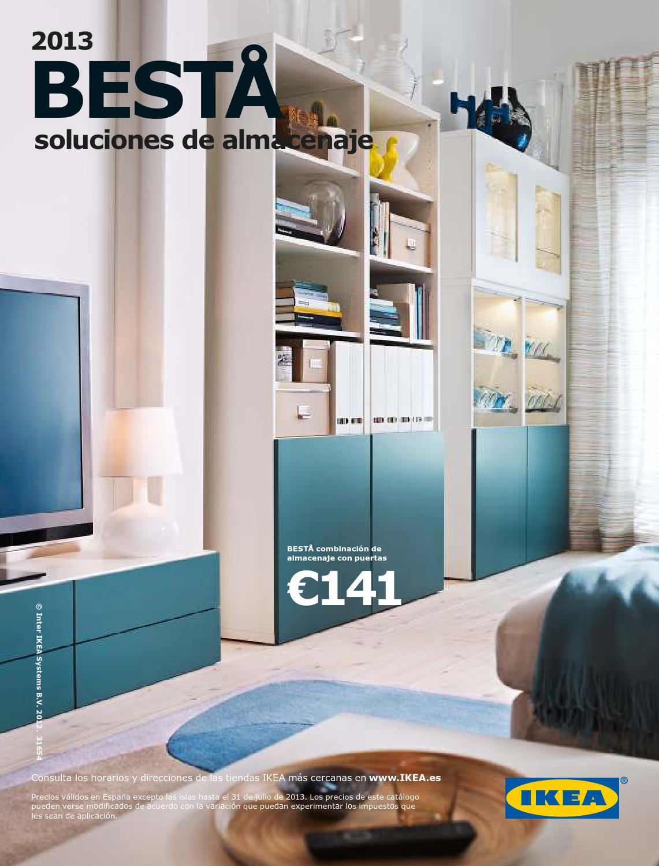 IKEA BESTA Pata de apoyo Gris 1 paquete