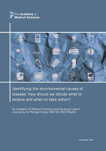 Identifying The Environmental Causes Of Disease By Academy Of