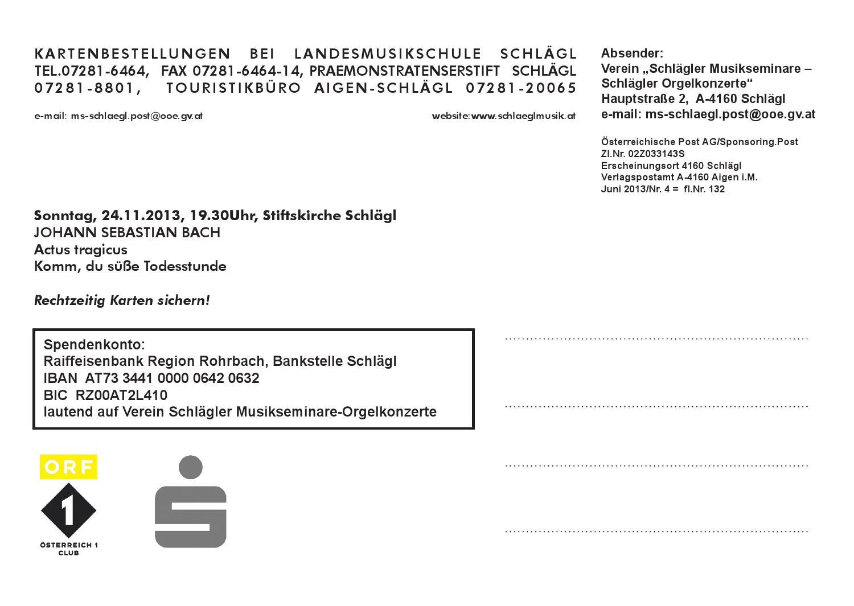 Sommerkonzerte 2013 By Schlägler Musikveranstaltungen Issuu