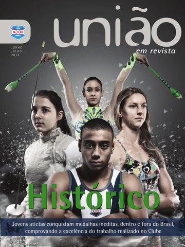 3b9b73bd01 União em Revista - Junho Julho by Grêmio Náutico União - issuu