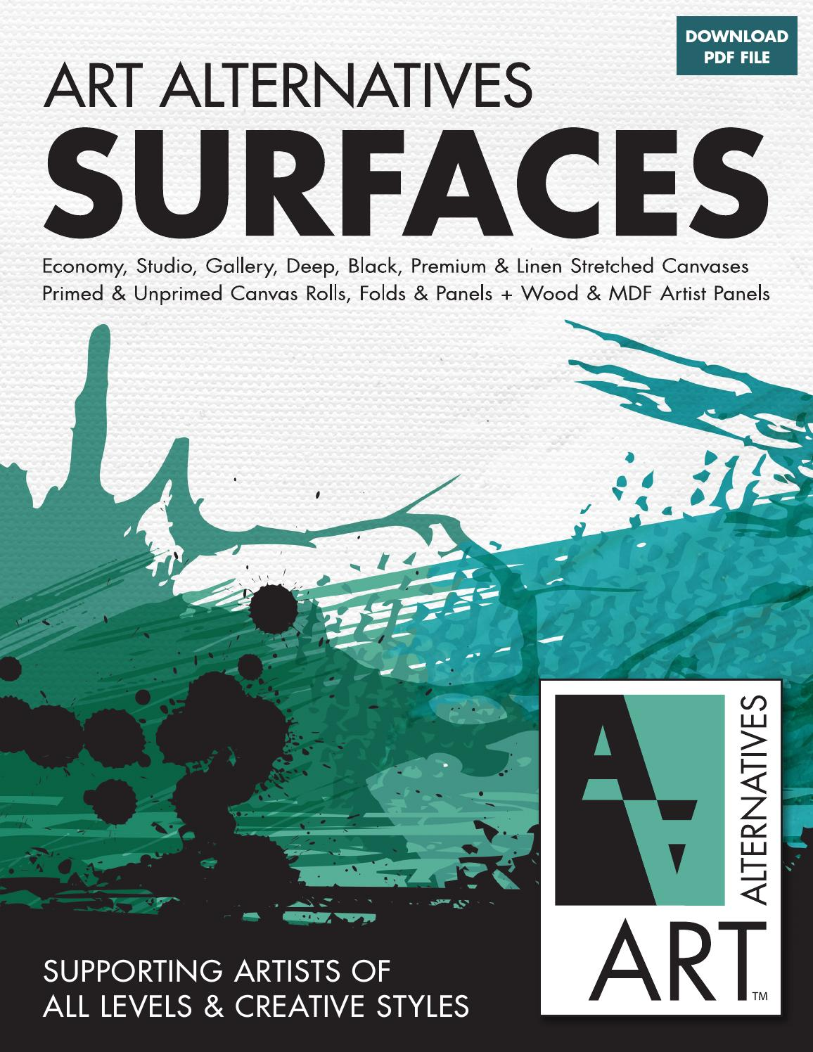 Art Alternatives Studio Stretched Canvas 18x18