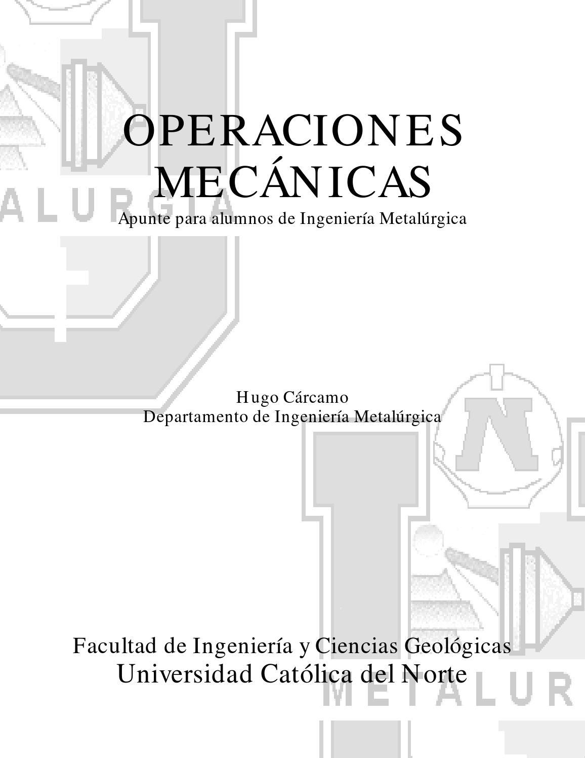 44183487 operaciones mecanicas metalurgia by Leonardo Horna - issuu