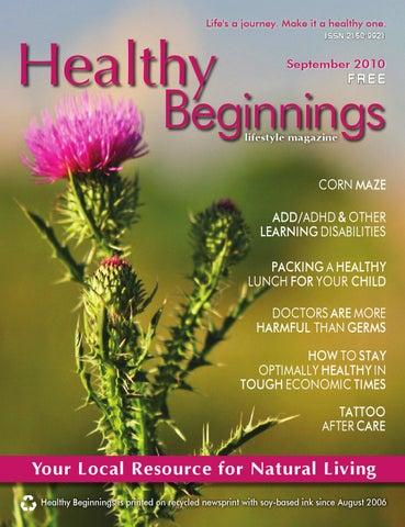 September 2010 Hb Mag By Healthy Beginnings Magazine Issuu