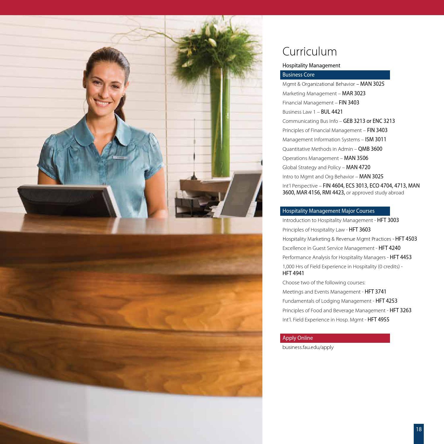 FAU College Of Business Undergraduate Catalog By Florida Atlantic University  Executive Programs   Issuu Design