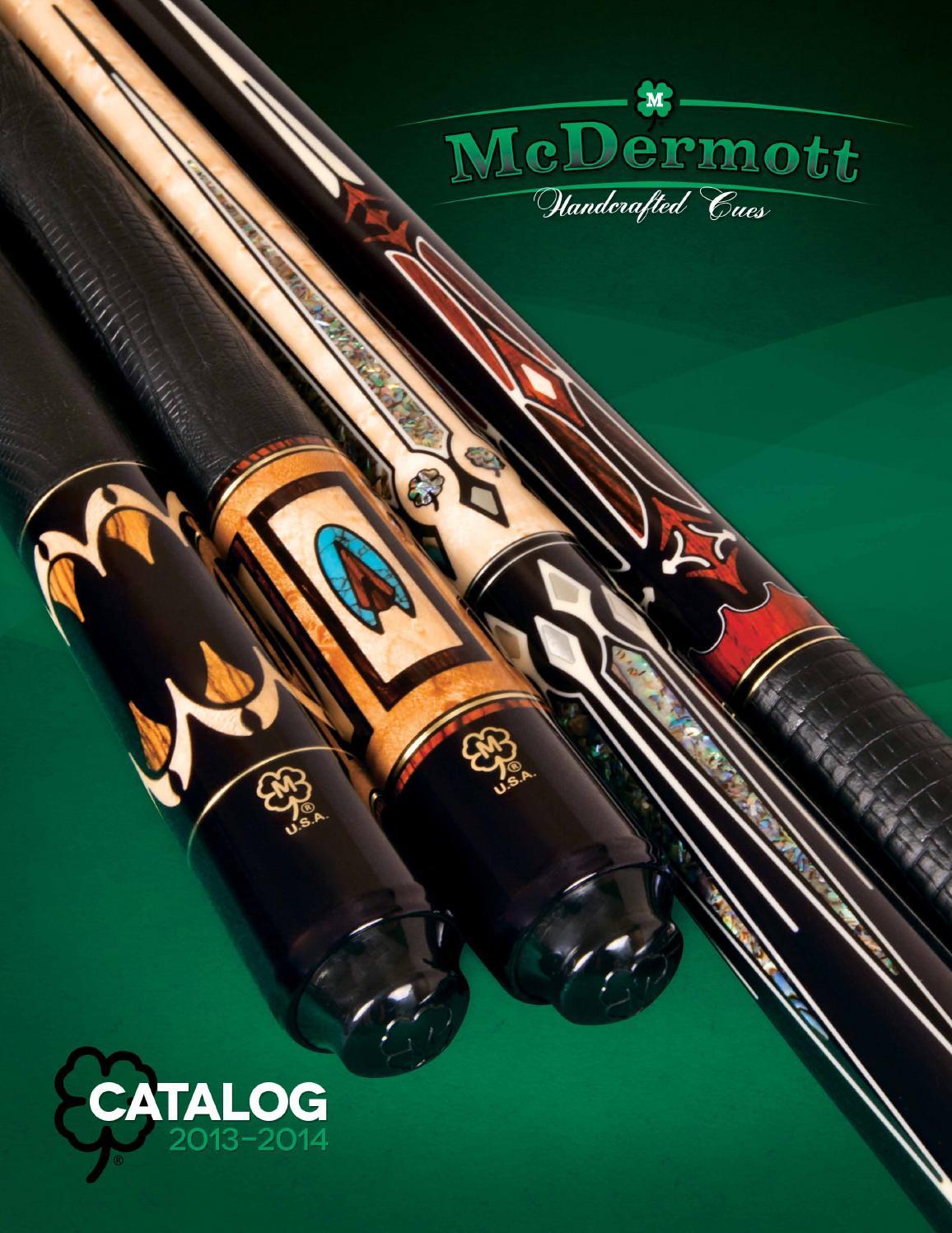McDermott Lucky L9 Linen Wrap Pool//Billiard Cue Stick Walnut Stain Free Case