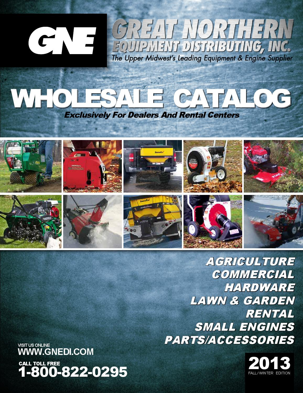 2013 Great Northern Equipment Gne Fall Catalog By Great
