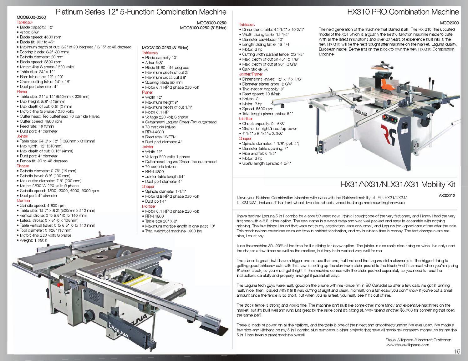 Laguna Tools Catalog by Laguna Tools - issuu