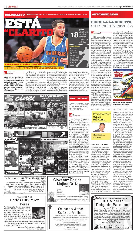 El informador 03 07 2013 by El Informador - Diario online Venezolano - Issuu