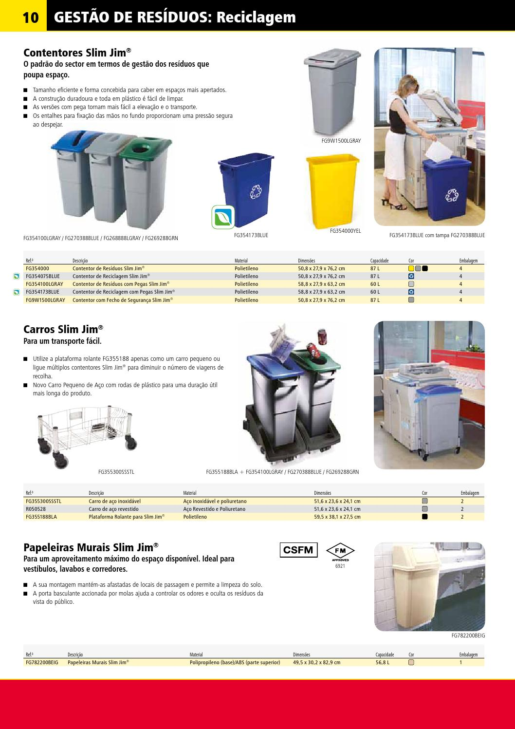 Rcp Catalogue 2013 Portuguese By Rubbermaid Issuu