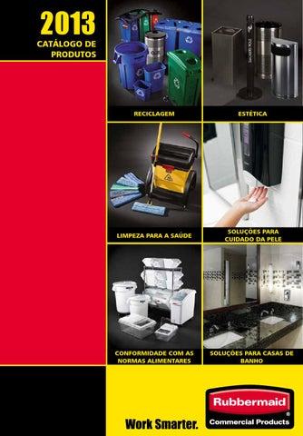 RCP Catalogue 2013 Portuguese by Rubbermaid - issuu b7b748ada019