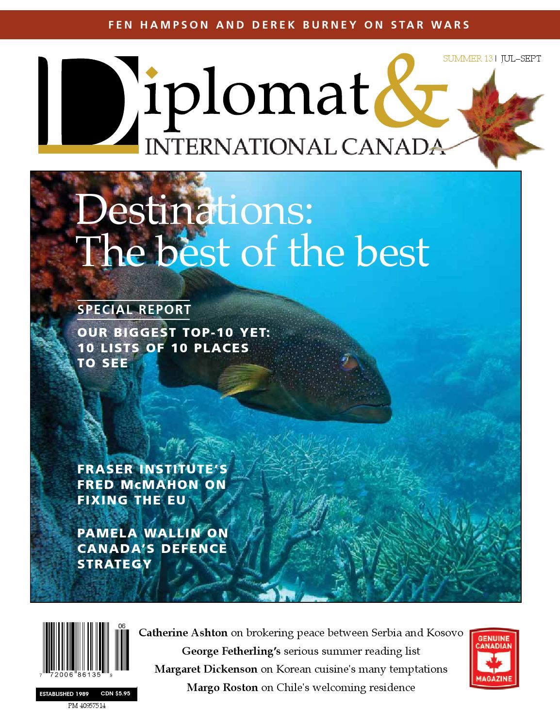 Diplomat International Canada Summer 2013 By Diplomatonline  # Muebles Buxo Castro