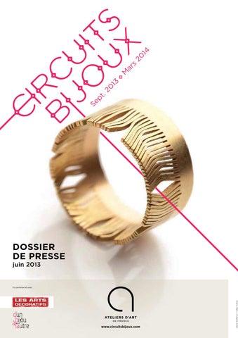 DP Circuits Bijoux by Ateliers d Art de France - issuu 4f255bba51a5