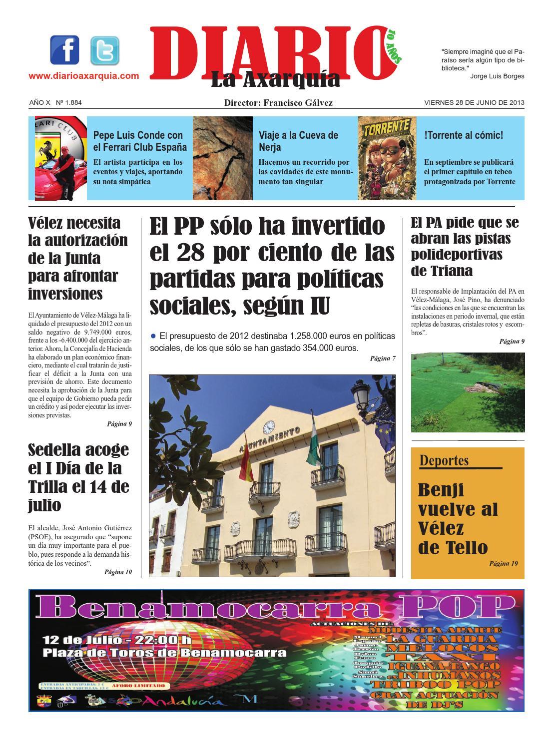 28 junio 2013 by DIARIO LA AXARQUÍA - issuu