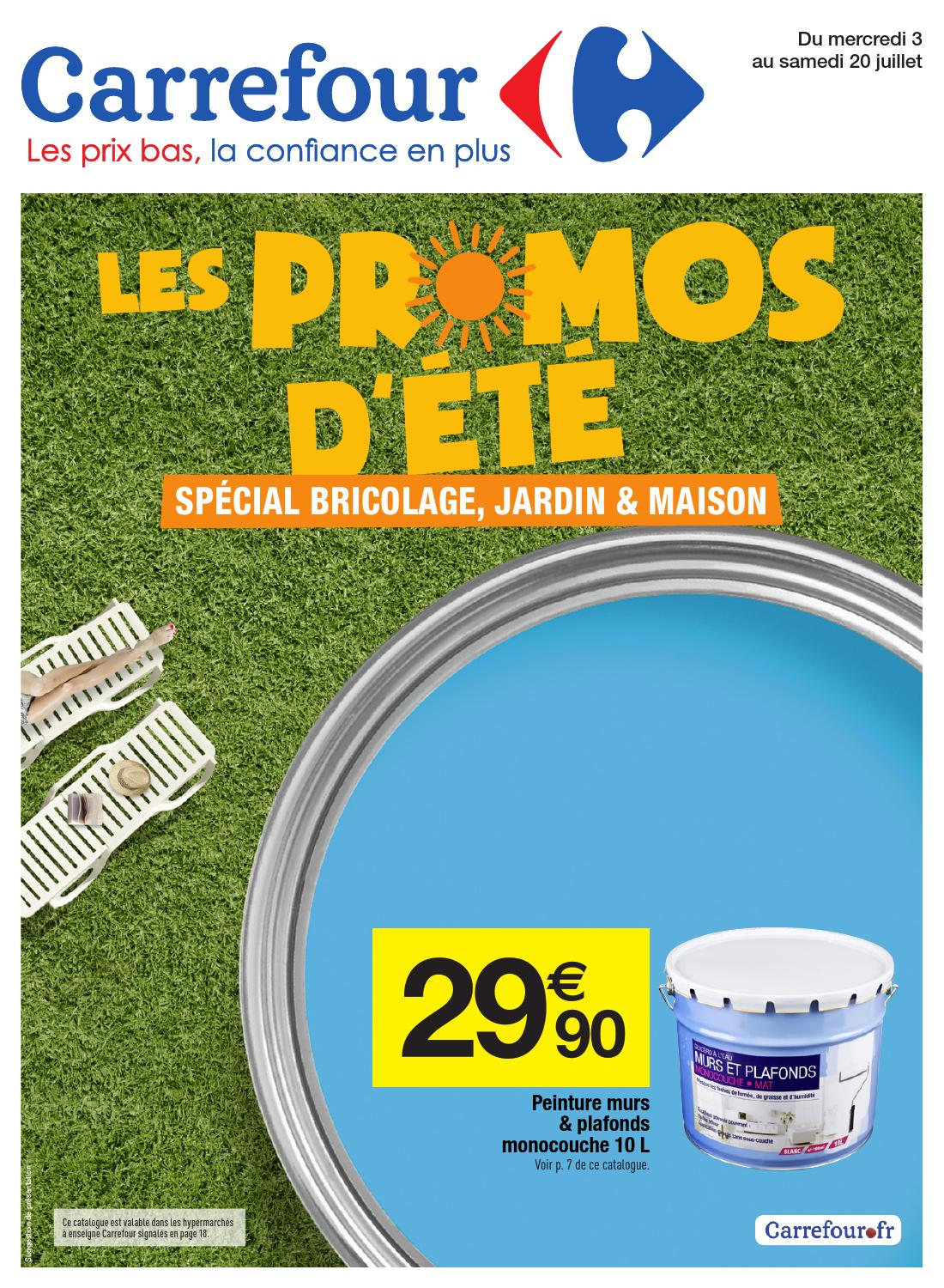 Catalogue Carrefour Promo D été By Margot Ziegler Issuu