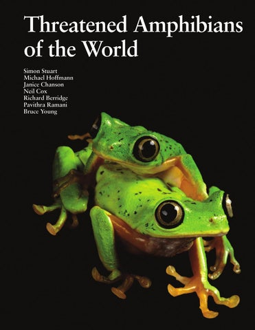 1 Taw Intro By Amphibian Survival Alliance Issuu