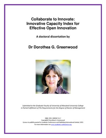 dissertation open innovation products