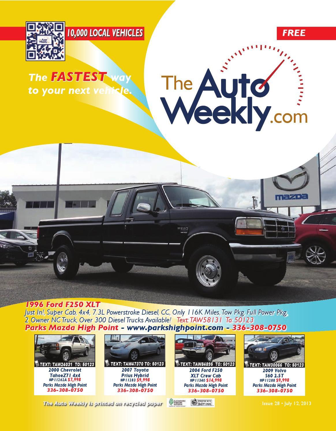 Issue 1328b triad edition by The Auto Weekly - issuu