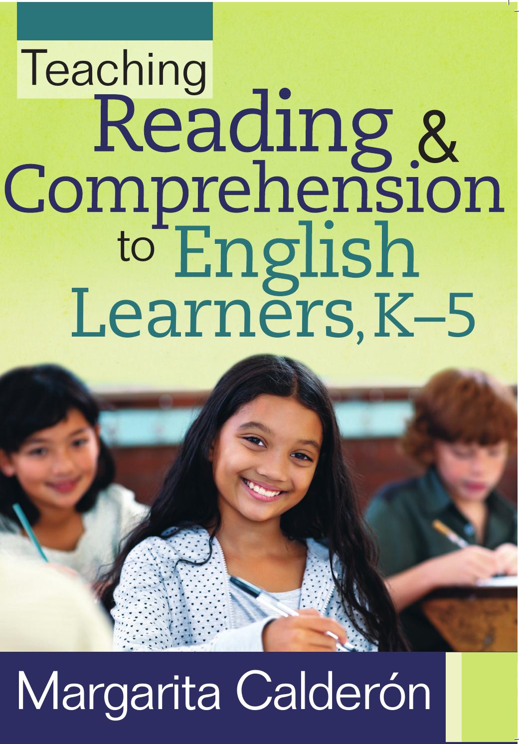Teaching Reading & Comprehension to English Learners, K-5 by ...