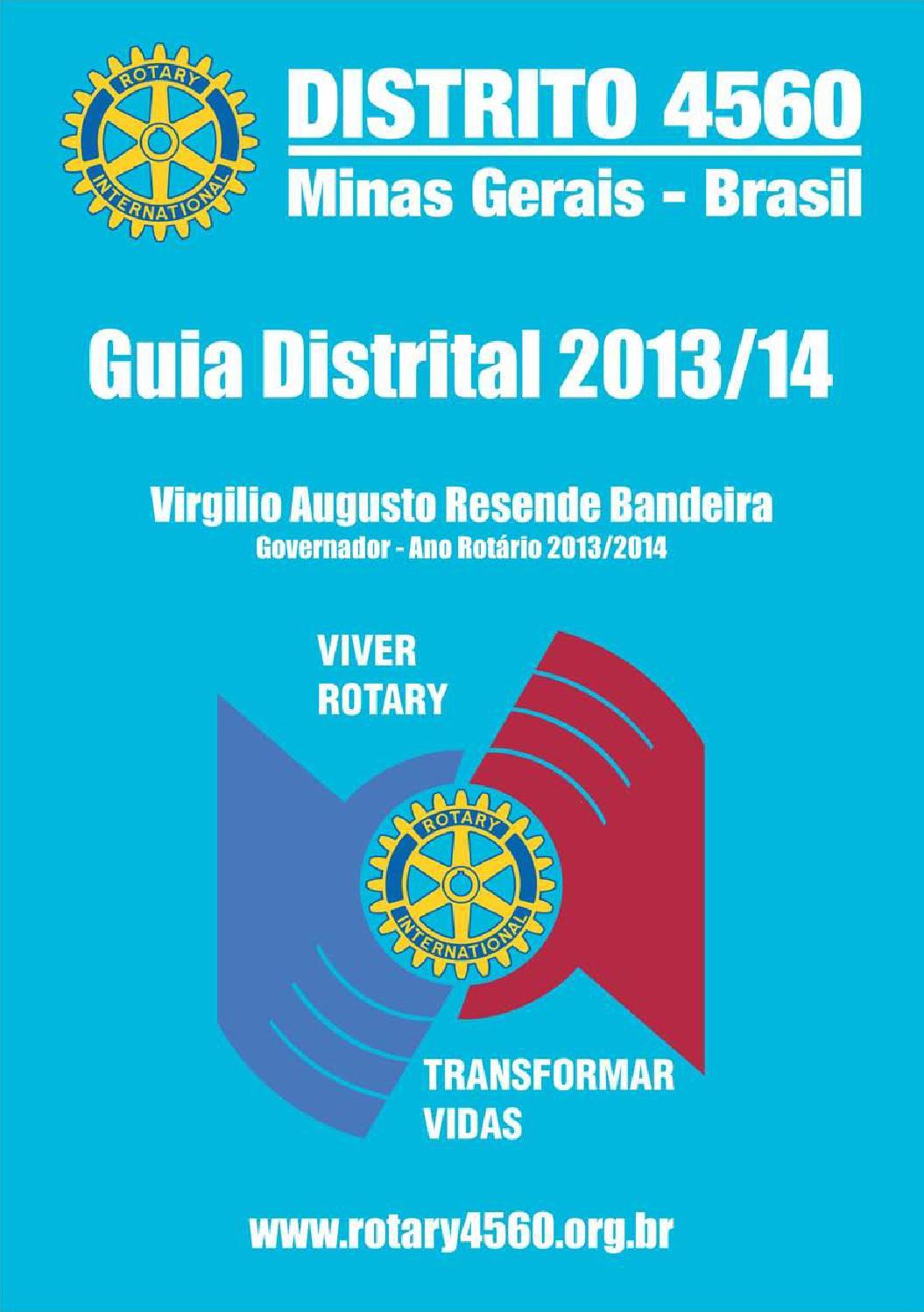 29e0fb8683 Guia Distrital 2013 14 - Distrito 4560 by João Zatti - issuu