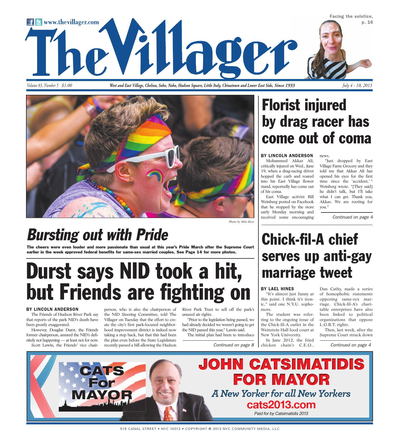 The Villager, July 4, 2013