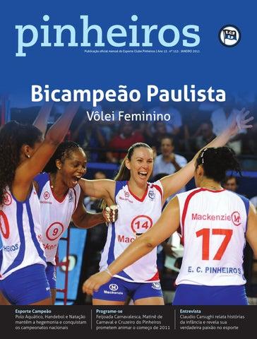 a592742ee6 Revista n°153 JAN 2011 by Esporte Clube Pinheiros - issuu