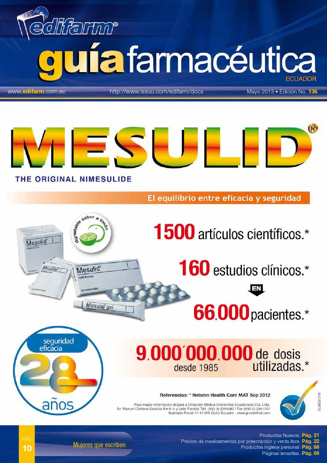 Guia Farmaceutica N 136 By Edifarm Cia Issuu