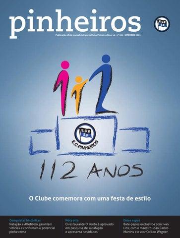 52eb6be5df Revista n°161 SET 2011 by Esporte Clube Pinheiros - issuu