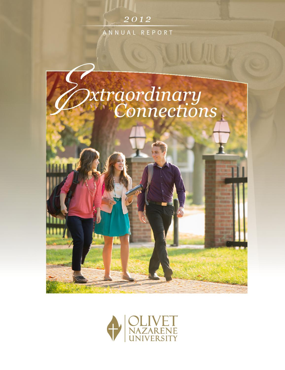 Olivet Nazarene University's Annual Report 2012 by Olivet