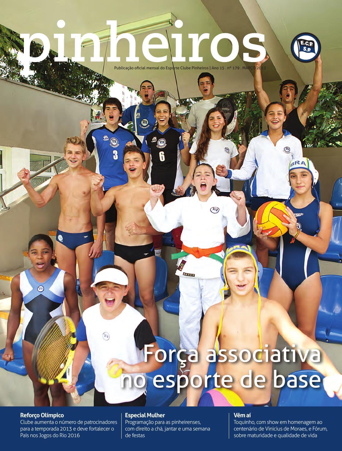 400c499ef Revista n°179 MAR 2013 by Esporte Clube Pinheiros - issuu