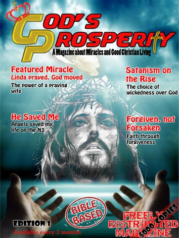 God's prosperity magazine edition 1