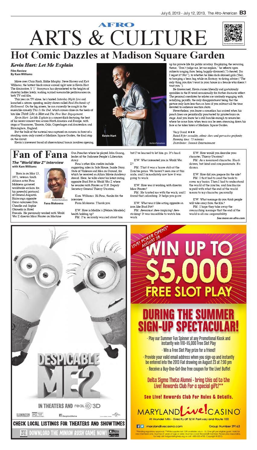 Prince Georges Afro-American Newspaper July 6 2013 by The
