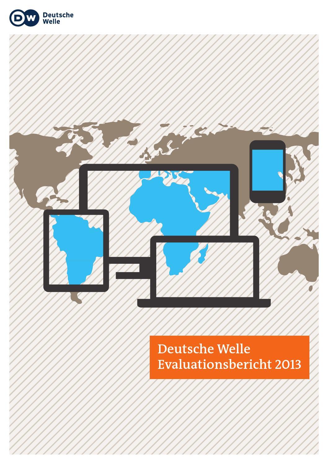 Evaluationsbericht 2010 bis 2013 by Deutsche Welle - issuu