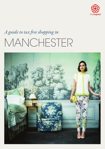 027ef5cf7e9c Guide to Tax Free Shopping in Manchester (English) by Marketing ...
