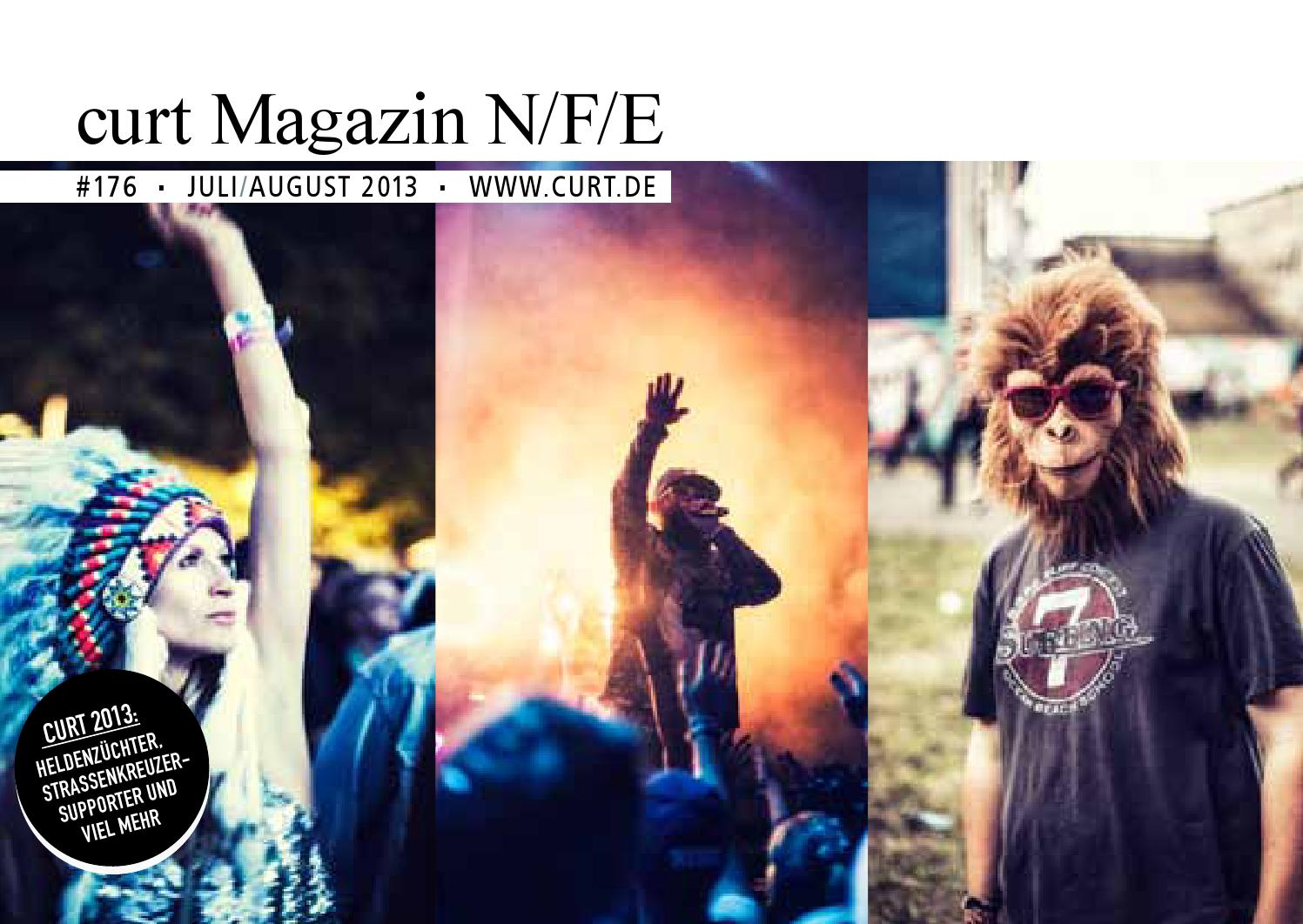 curt N/F/E #176 Juli+August 2013 by curt Magazin - issuu