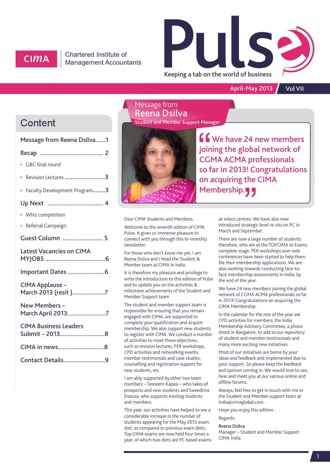 cima gbc 2013 case study