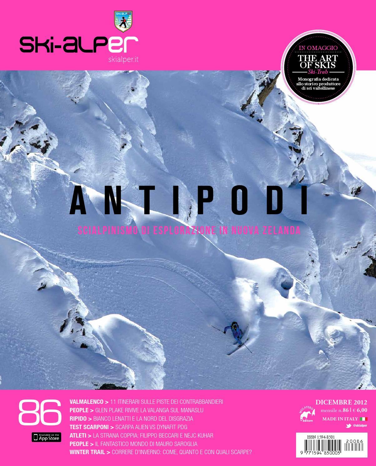 Ski-alper 86 by Mulatero Editore - issuu 368271f9bdf