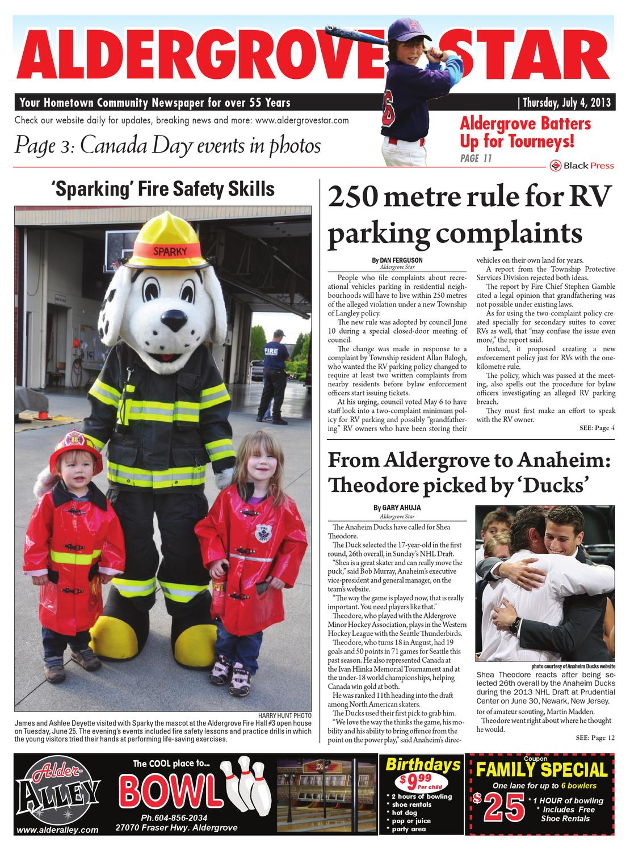 Aldergrove Star July 04 2013 By Black Press