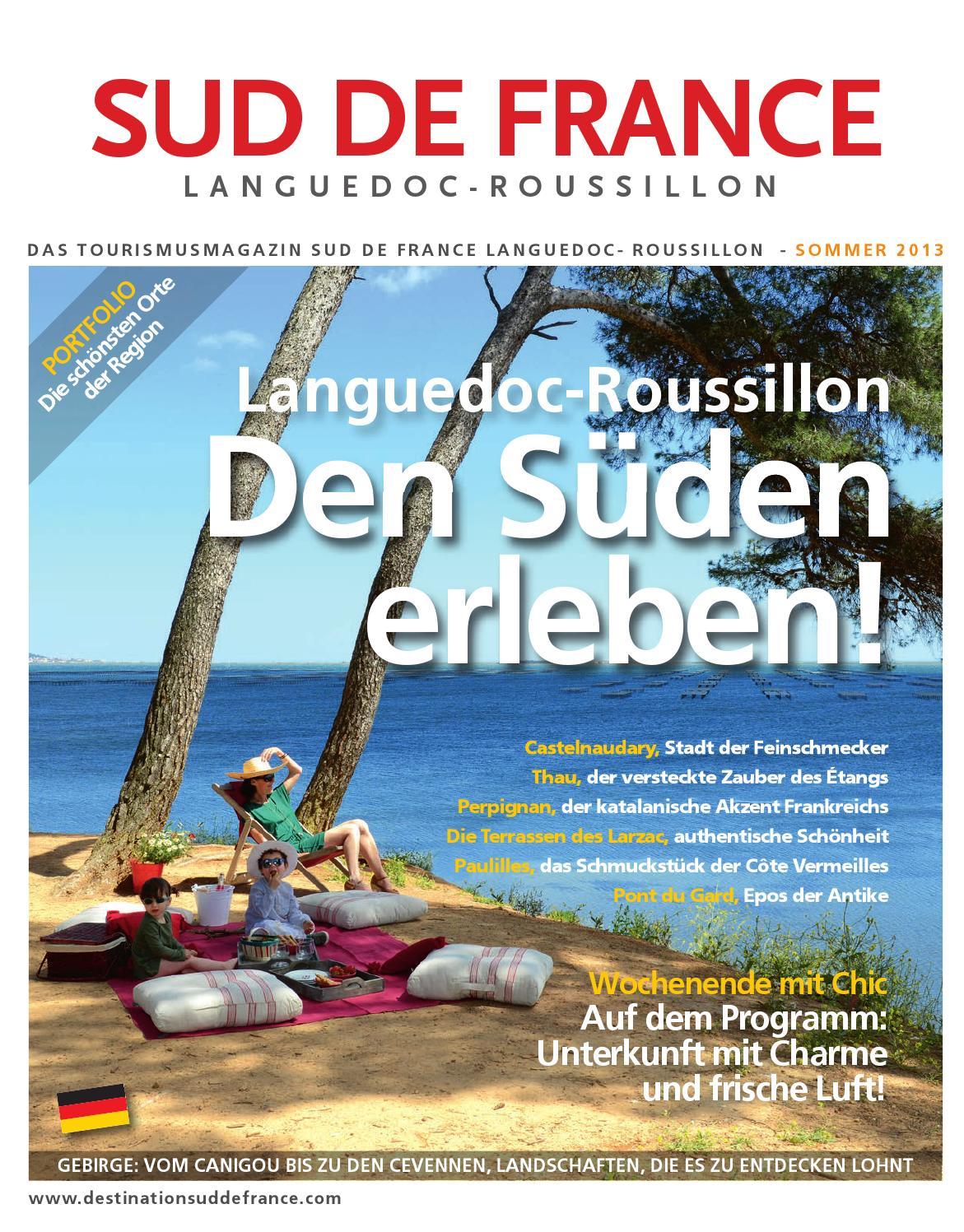 Sud de France Tourismusmagazin Sommer 2013 by Sud de France ...