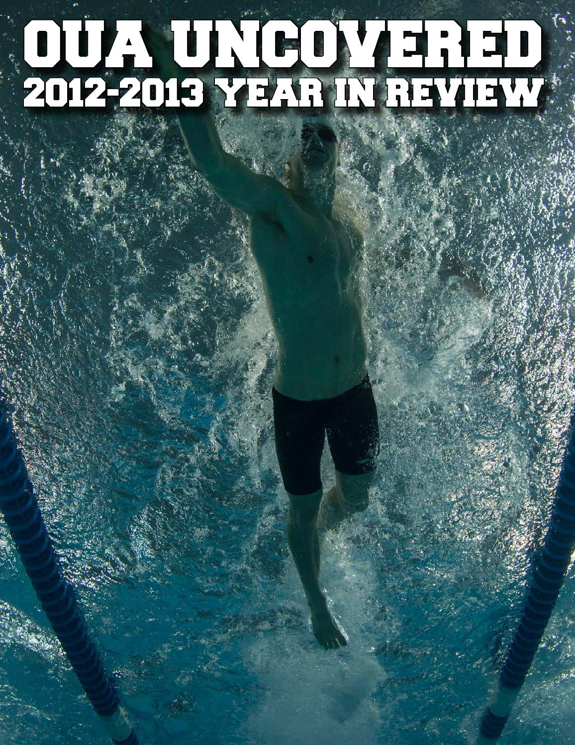 OUA Uncovered: 2012-2013 Year in Review by Ontario University ...