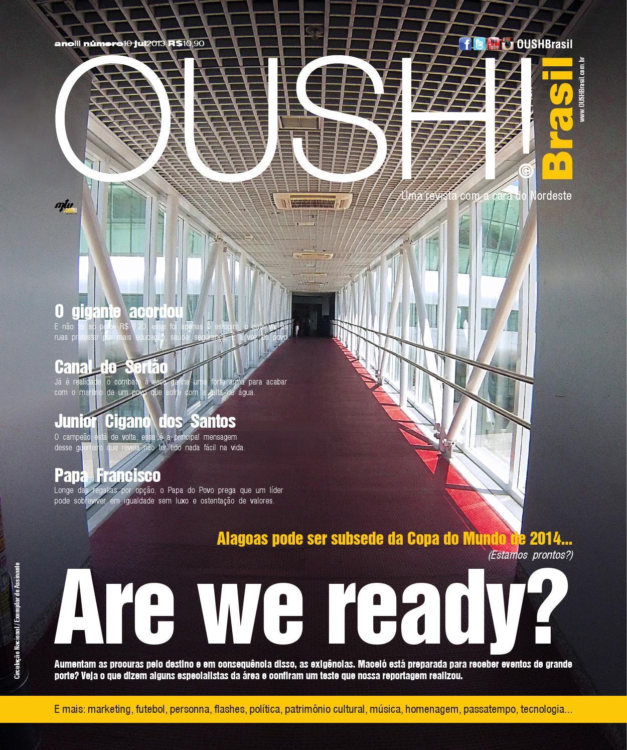 98001d59f8500 Brasil - Capa Alagoas subsede 2014 - Ano III Edição 10 Jul 2013 by Revista  OUSH Brasil - issuu