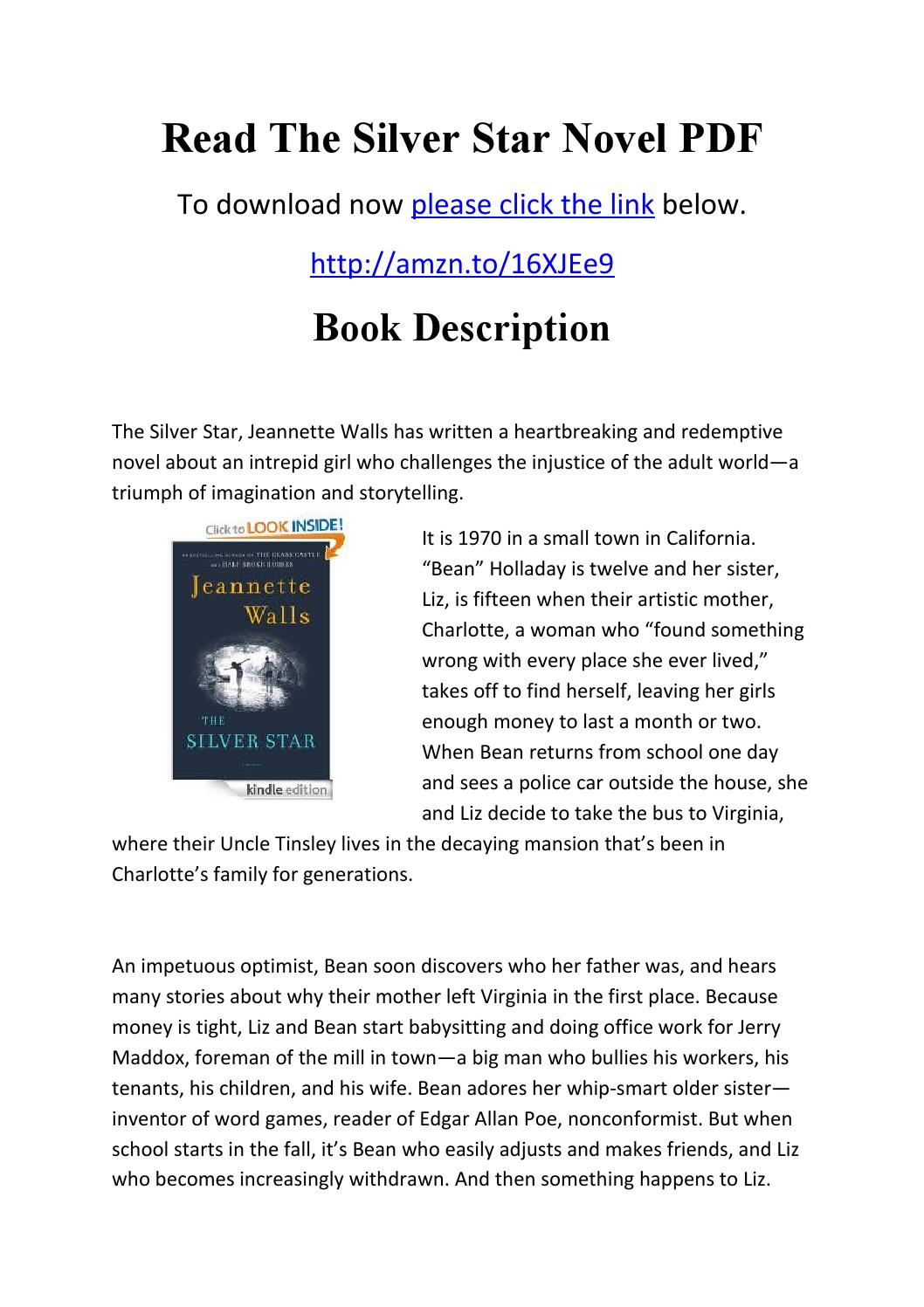 The Silver Star PDF Details