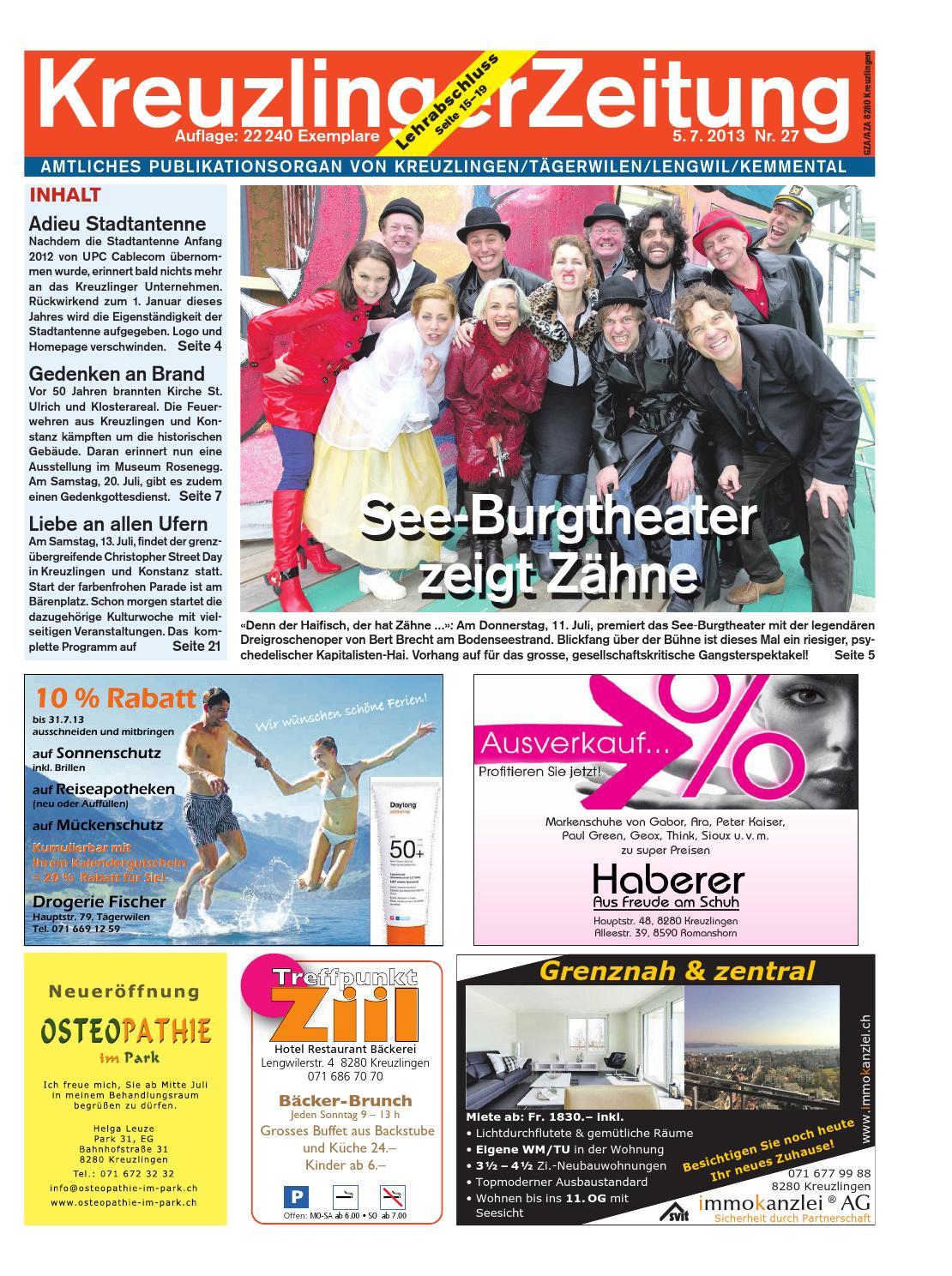 Klz 27 by KreuzlingerZeitung - issuu